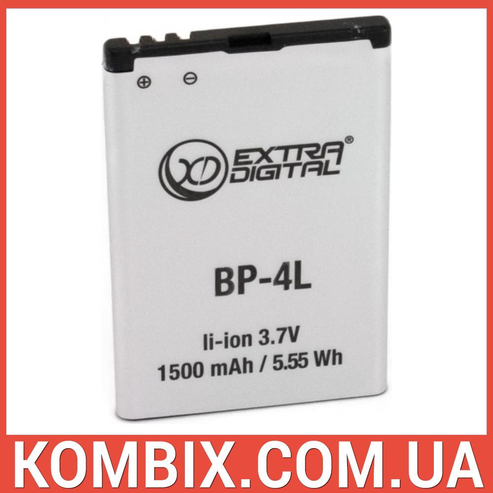 Аккумулятор Nokia BP-4L   Extradigital, фото 1