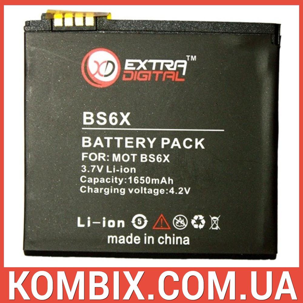Аккумулятор Motorola BS6X | Extradigital, фото 1