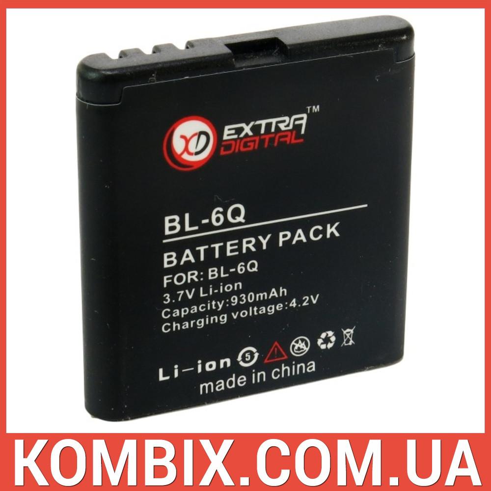 Аккумулятор Nokia BL-6Q | Extradigital, фото 1