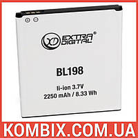 Аккумулятор Lenovo BL198   Extradigital, фото 1