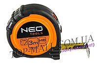 Рулетка NEO - 3 м x 19 мм магнит