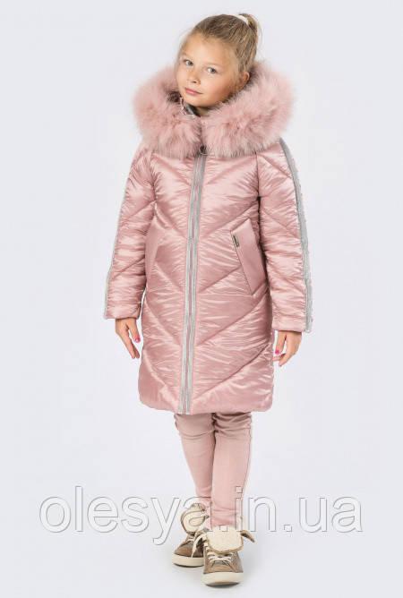 f1cd9153757 Детское зимнее Пальто на девочку бренда X-Woyz 8267 Размеры 32- 42 Новинка!