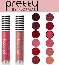 Жидкая матовая помада для губ Pretty By Flormar Matte Liquid Lipstick