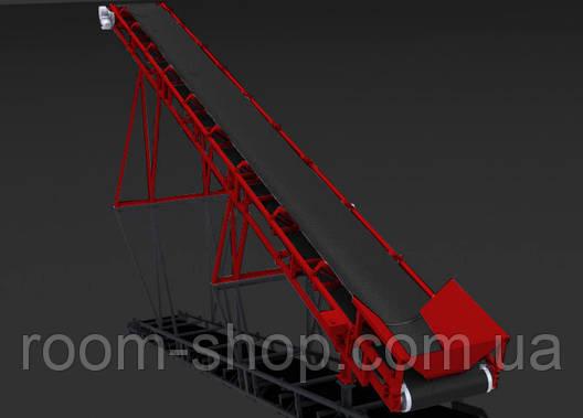 Ленточный транспортер (конвейер) ширина 1000 мм длинна 7 м., фото 2