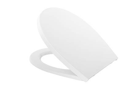 Сиденье для унитаза  Cersanit DELFI полипропилен, фото 2
