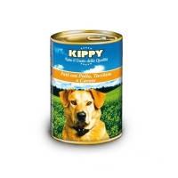 KIPPY консервированный корм для собак с курицей, индейкой и морковью (паштет), 400г