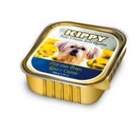 KIPPY консервированный корм для собак с рыбой, рисом и морковью (паштет), 150г