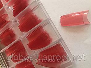 Накладные искусственные типсы GLOBOS R cl pink, фото 2