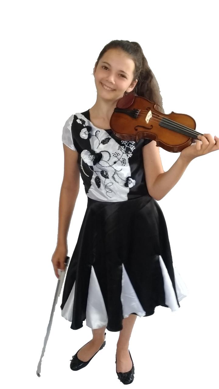 Платье концертное Инвенция