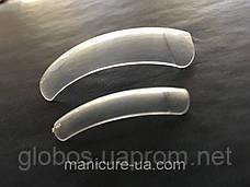 Накладные искусственные типсы GLOBOS R clear 1, фото 2