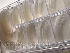 Накладные искусственные типсы GLOBOS R clear 1, фото 3