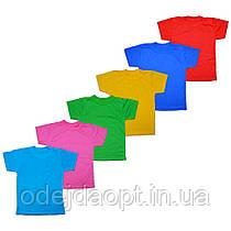Дитяча однотонна футболка 2,3,4,5,6,7,8,9,10,11,12,13,14,15 років