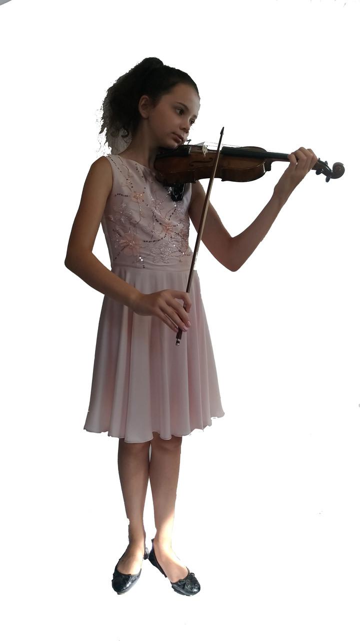 Концертное платье  Розовая Соната