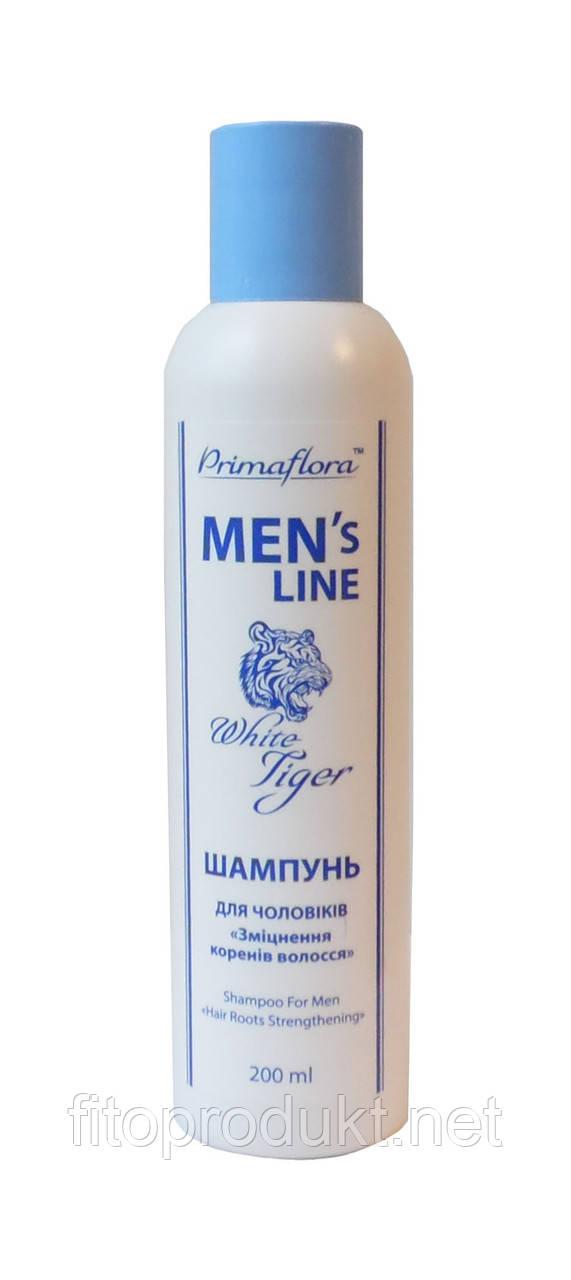 Шампунь для мужчин для ежедневного ухода White Tiger - Мужская линия 200 мл