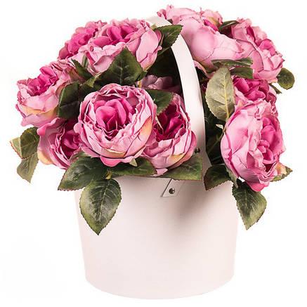Коробка для цветов с ручкой ( картон ), фото 2