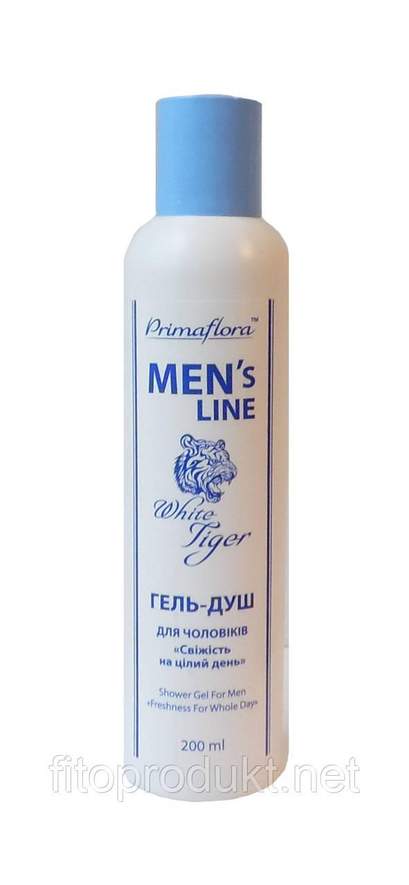Гель для душа мужской White Tiger - Мужская линия 200 мл