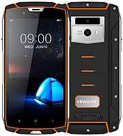 "Vkworld Vk7000 orange ip68 4/64 Gb, 5.2"", MT6750T, 3G, 4G, фото 1"