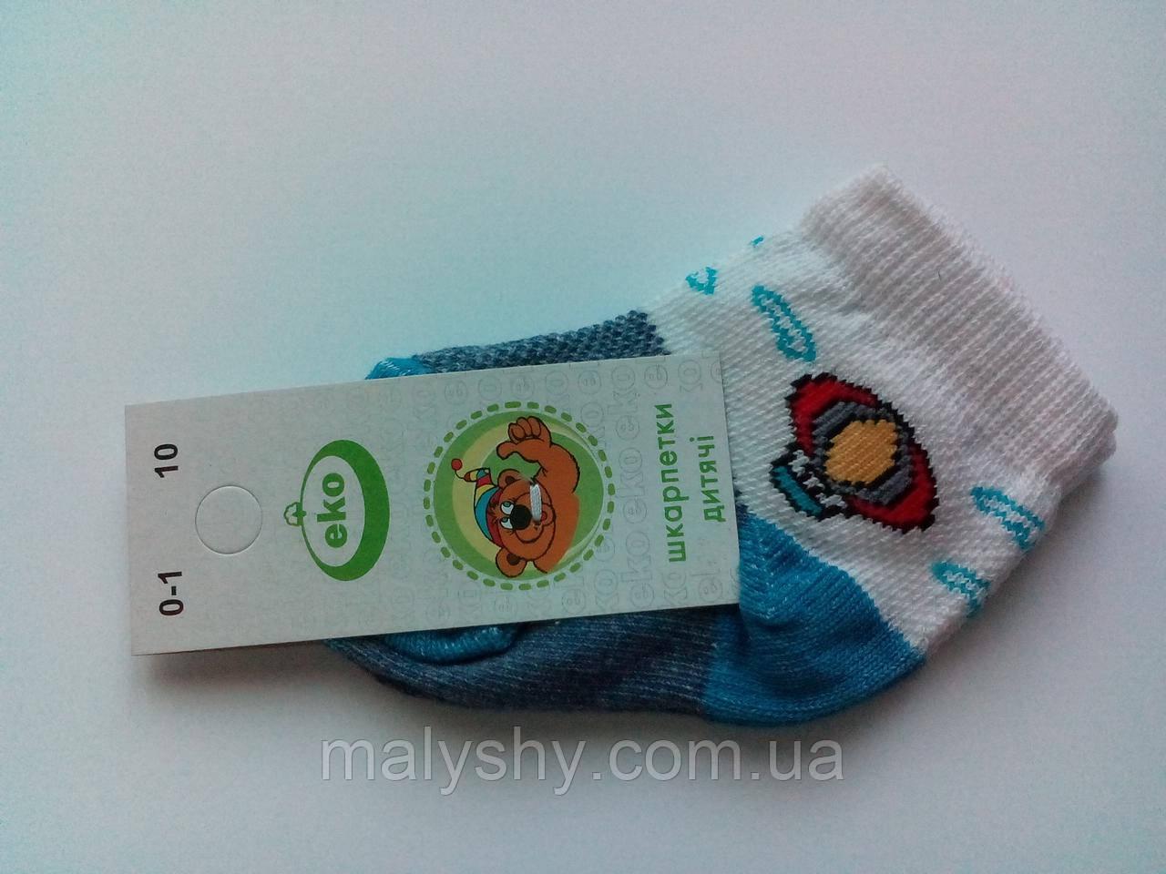 Детские носки демисезонные - Эко 4131 р.10 (шкарпетки дитячі, Еко)