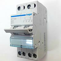 Переключатель I-0-II 2 полюса 40А HAGER SFT240