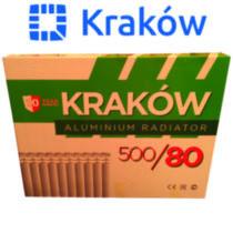ОРИГИНАЛ! Алюминиевый радиатор Краков Польша 50х80