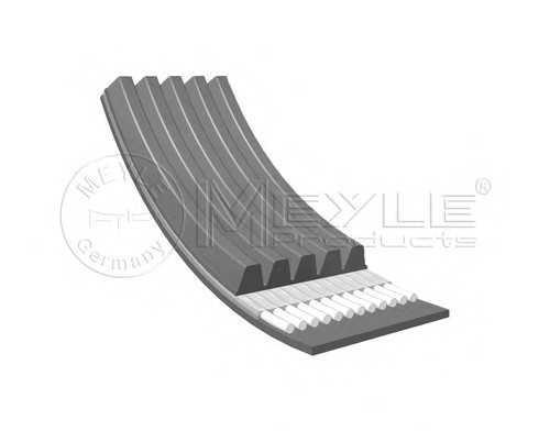 Ремень поликлиновой Ланос 1.3-1.5 ген+г/у, MEYLE, 500050970