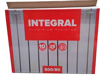 ОРИГИНАЛ! Алюминиевый радиатор Интеграл Турция 50х80