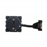 Розетка аудио/видео HDMI тип A с кабелем для подключения - Программа Celiane