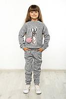 Костюм спортивный детский Зайка серый, фото 1