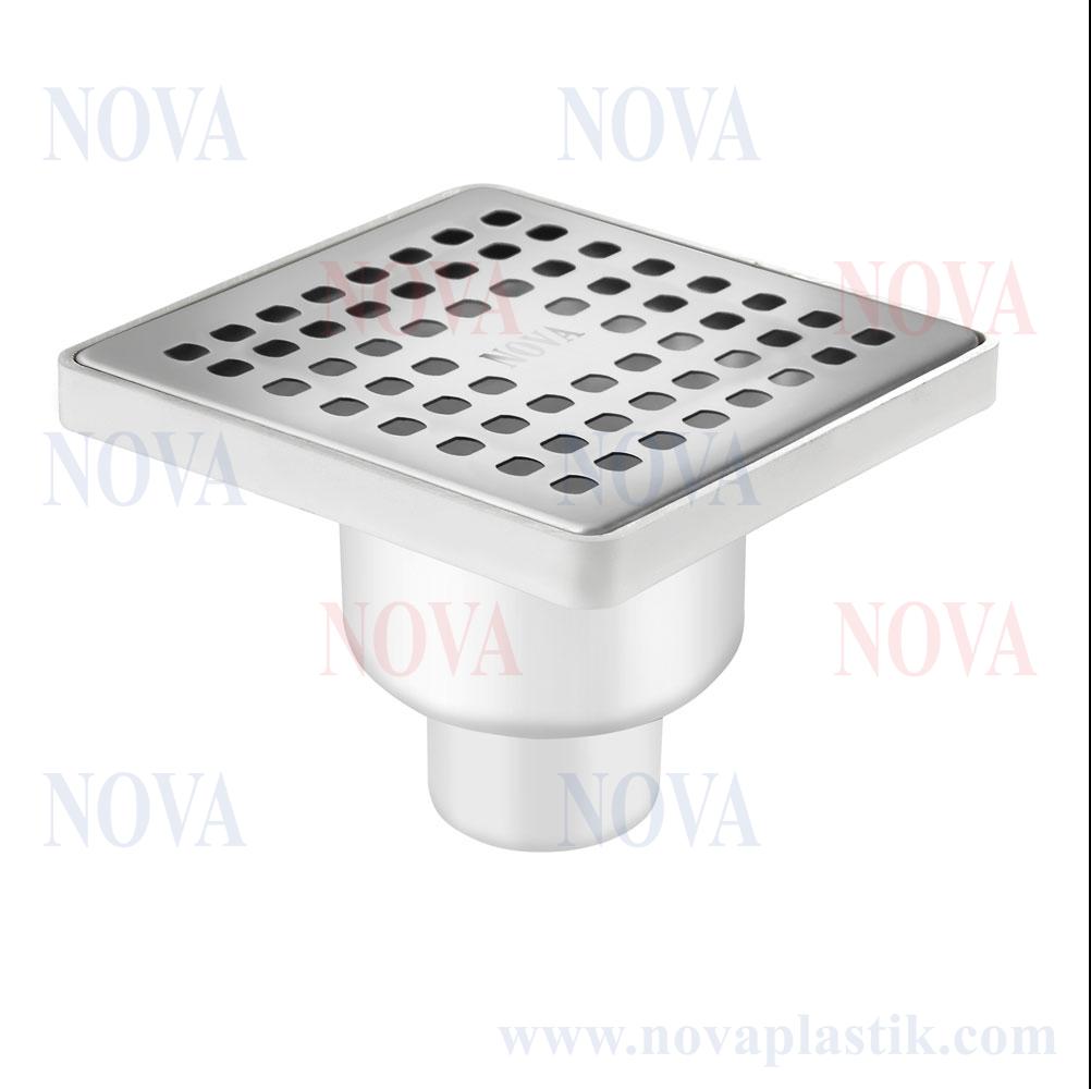 Трап сантехнический Nova 150x150 мм нижний