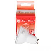 Светодиодная лампа ElectroHouse для точечных светильников GU10 5W 4100K 450Lm