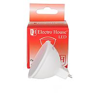 Светодиодная лампа ElectroHouse LED для точечных светильников MR16 5W