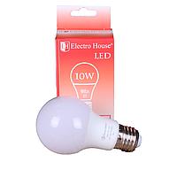 Светодиодная лампа ElectroHouse LED А65 E27 10W