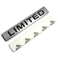 3D эмблема -  Limited: металлическая, фото 1