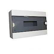 ElectroHouse Бокс пластиковый модульный для наружной установки на 16 модулей