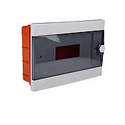 ElectroHouse Бокс пластиковый модульный для внутренней установки на 12 модулей