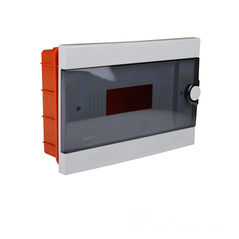 ElectroHouse Бокс пластиковый модульный для внутренней установки на 12 модулей, фото 2