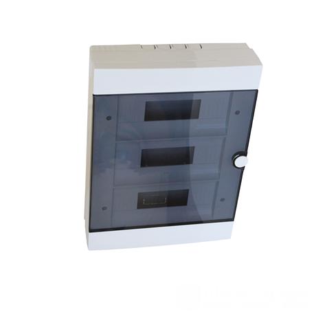 ElectroHouse Бокс пластиковый модульный для наружной установки на 36 модулей, фото 2