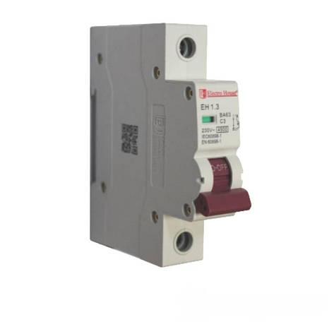 ElectroHouse Автоматический выключатель 1P 3A 4,5kA 230-400V IP20, фото 2