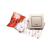ElectroHouse Выключатель латте с подсветкой Enzo EH-2183