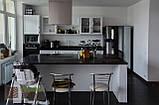 """Кухня """"Тоскана"""". Фасады массив ясень, цвет Белый, фото 3"""
