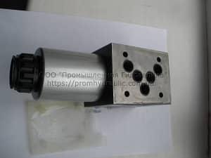 На фото изображен готовый к использованию  Гидрораспределитель ВЕ10.574, ВЕ10.574а, ВЕ10.574е В110, В 220, УХЛ4 32МПа.
