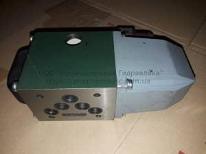 На фото показан собранный и готовый к использованию Гидрораспределитель ВЕ10.574а, ВЕ10.574е В110, В 220, УХЛ4 32МПа.
