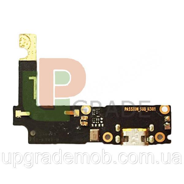 Шлейф Lenovo P1 Vibe P1A42/P1C58/P1C72, з роз'ємом зарядки, з мікрофоном, плата зарядки