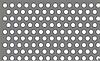 Лист алюминиевый перфорированный Rv3-5 1х1000х2000мм