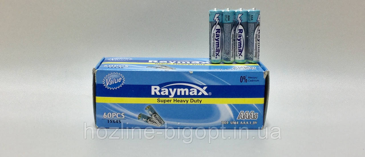 Raymax R03 (AAА) UM3 60 шт.