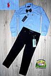 Черные брюки Lacoste для мальчика 3-5 лет, фото 2