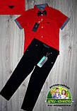 Черные брюки Lacoste для мальчика 3-5 лет, фото 6