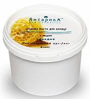 Сахарная паста для эпиляции, Янтарика, средняя с с медом, 500гр