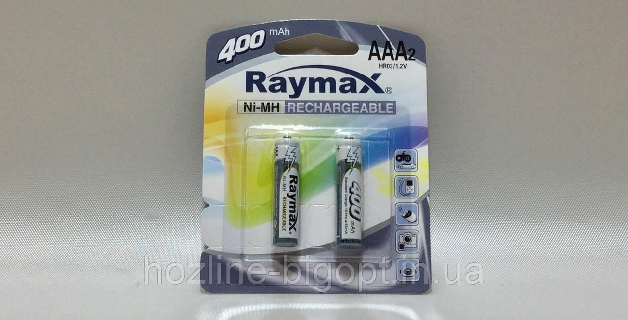 Raymax HR03 1.2 V (AAА) 400 mAh 2 шт.