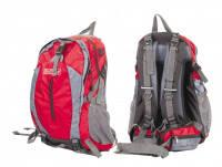 Рюкзак  красно-серый  обьемом 40 литров